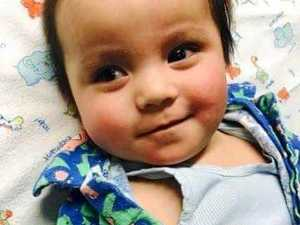 Mackay baby recovers after family told: 'we might lose him'