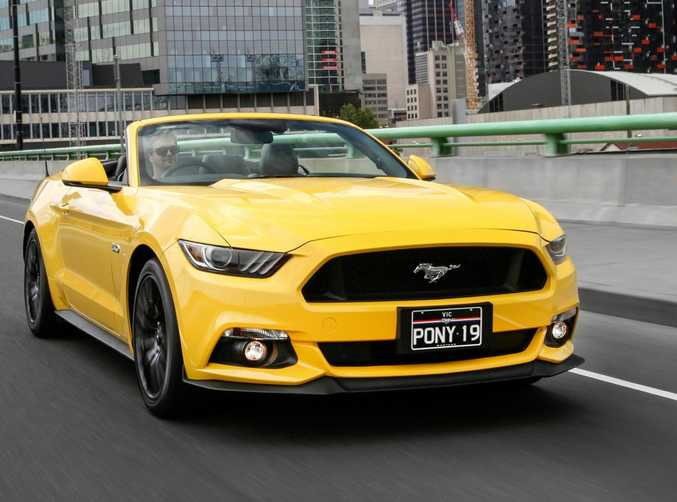 The Ford Mustang is still hot property.