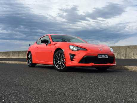 Toyota 86 Orange (2017 limited edition with Brembo brakes).
