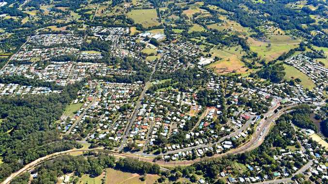 CHANGING: Residential subdivisions are transforming the town of Palmwoods.