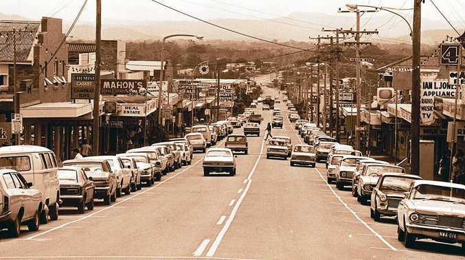 Bulcock St, Caloundra, in1972.