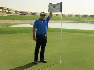 TAFE graduate living the golfing dream