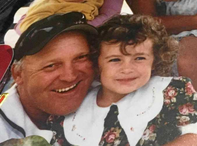 TRUCKING CRASH: Rebecca Slade wants to find the person who was in a head-on collision with her dad, Jeffrey Slade, 10 years ago.