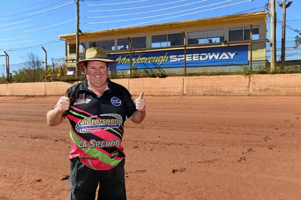 REVVED UP: Maryborough Speedway president Wayne Moller believes 2017 could be one of the biggest season's in the club's 60-year history.