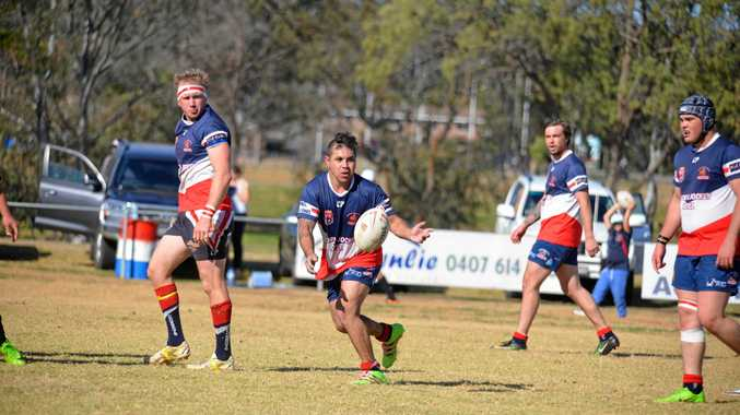 READY TO GO: Warwick Cowboys reserve grade player Josh McIntosh will play in the TRL knockout final in Toowoomba tomorrow.