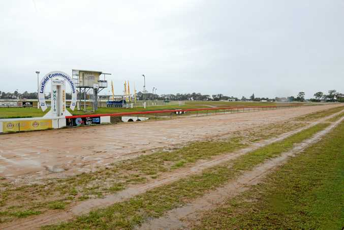 EMPTY TRACK: Tomorrow's greyhound races in Bundaberg have been called off.