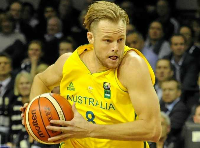 Australia's Brad Newley was rested for the win over Hong Kong.