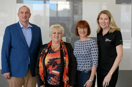 L-R Grant Cassidy, Michelle Landry, Bronwyn Fenech and Mary Carroll will be heading to Singapore as part of a local trade delegation.