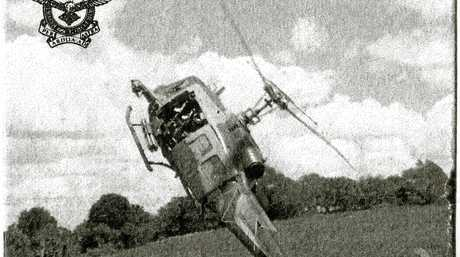 AGILE: An Iroquois helicopter is put through its paces.