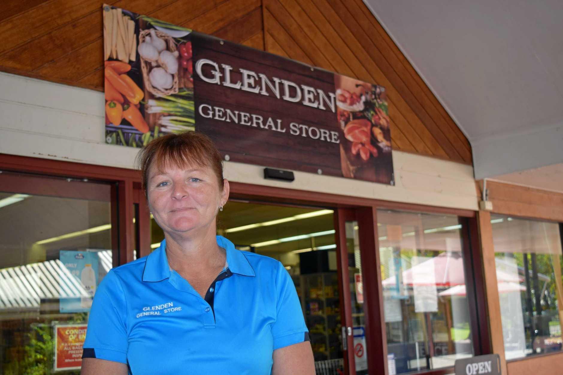 Glenden grocery store owner Milissa Payne.