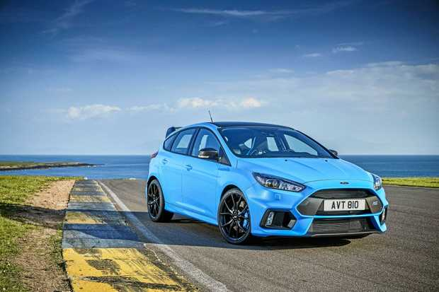 The Ford Focus RS Limited Edition is confirmed for Australia from November.