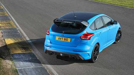 The Ford Focus RS Limited Edition (overseas model).