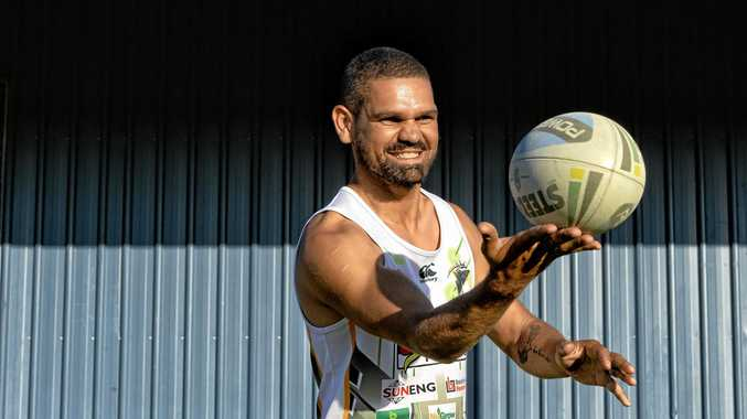RIGHT BALANCE: Wes Conlon is at peace with the world and is rugby league's only qualified