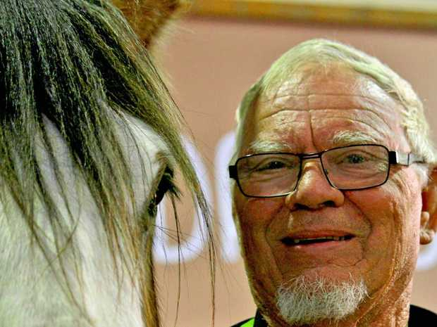 Toowoomba's Neil Hall and Opal are ready to win big at the Ekka.