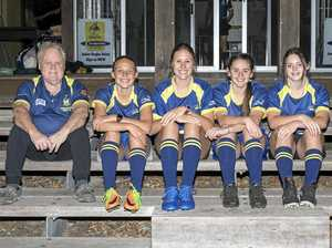 Rugby Sevens giving local girls a gala go
