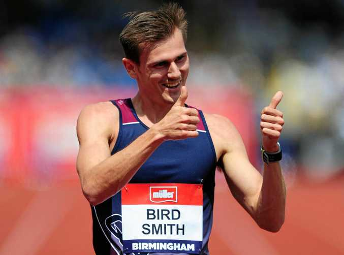 FLYING HIGH: Rio Olympics medallist Dane Bird-Smith is confident of strong finish in the 20km walk at the world championships in London.