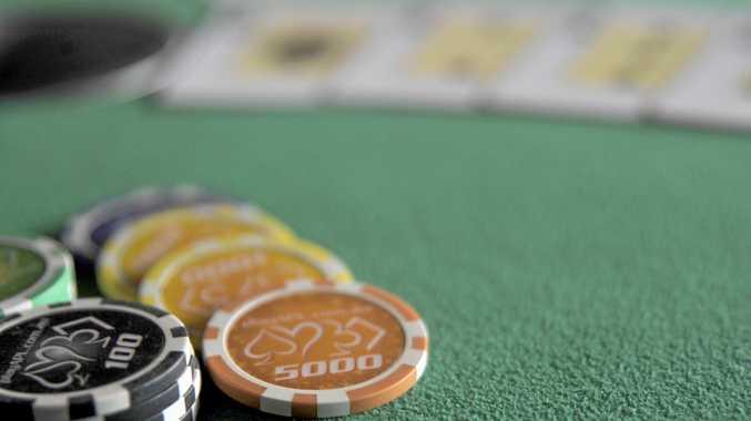 STOOLEN: A man stole money from a poker game in Bundaberg.