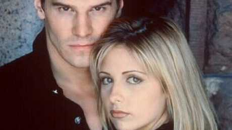Angel and Buffy, what a couple.