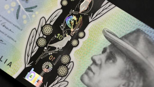 Design of Australia's new $10 note will come into circulation this September.