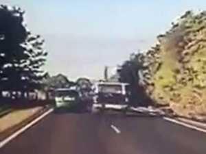 Dash cam footage Bundaberg