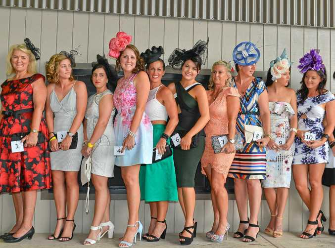 YOU BEAUTY: Fashions on the Field, Ferguson Park, from April, 2015.
