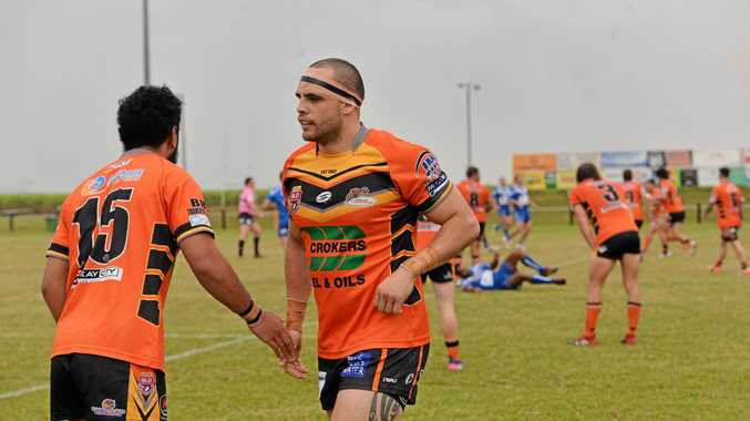 Wests Tigers captain Steve Rapira will lead the team against the Magpies this weekend.