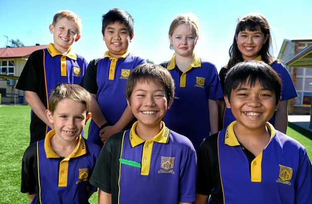 Students from Goodna State School are doing well in science.