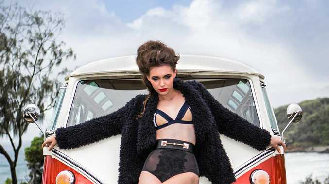 Sunshine Coast Fashion Festival 2016 Model Ambassador Tayla Spier was not with an agency when she auditioned for the role.