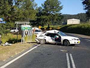 Man killed in two car crash on the Coffs Coast