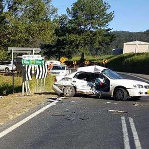 Bellingen Car Crash