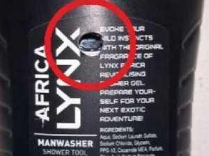 Lynx Africa spy cam: Teen girl secretly filmed in shower