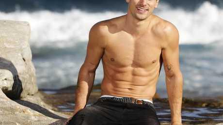 """I was pretty skinny and weedy in high school"".... Matty J. Picture: Justin Lloyd."