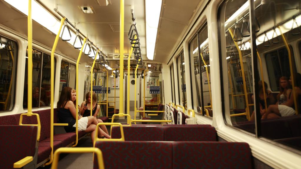 Passengers on the Ferny Grove line train were stuck for hours on Friday night. File image