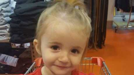 Hope Bunston, 2, died after being hit by a car in the driveway of her Lockyer Valley home.