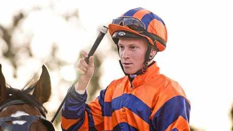 JOB DONE: Winning rider Nick Keal.