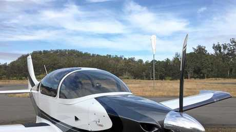 Ben Berg's Sling 4 light plane.