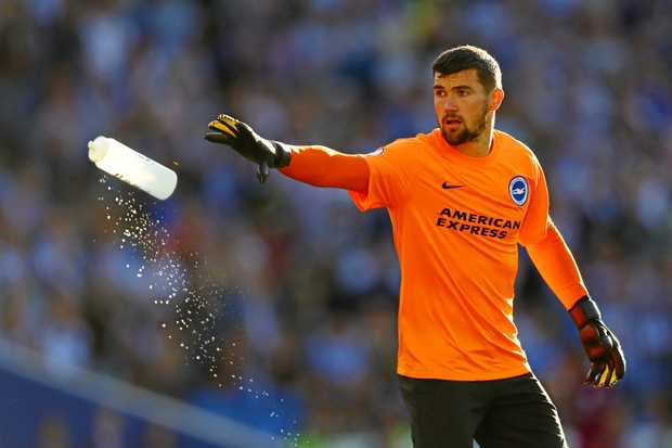 Socceroos goalkeeper Mat Ryan had a losing start to his EPL career.