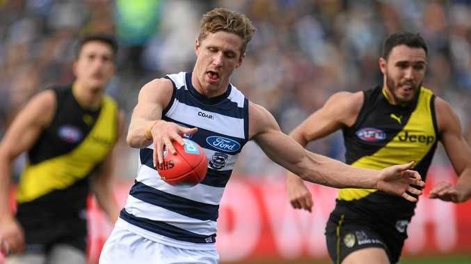 Scott Selwood in action against Richmond.