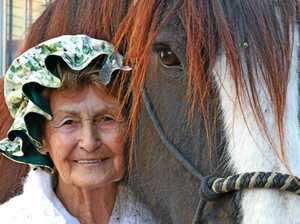 Horse-lover Ann reigns in the Ekka crowd