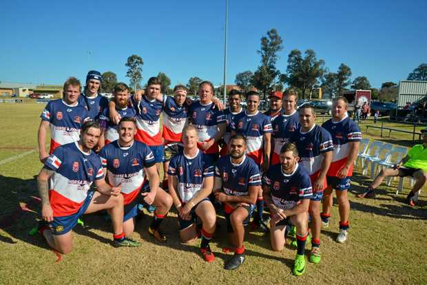 FIFTH: The Warwick Cowboys reserve grade team finished the season in equal fifth position.
