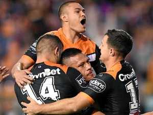 Wests Tigers put dent in Sea Eagles hopes