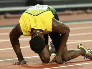 Conspiracy rages over cause of Bolt's injury