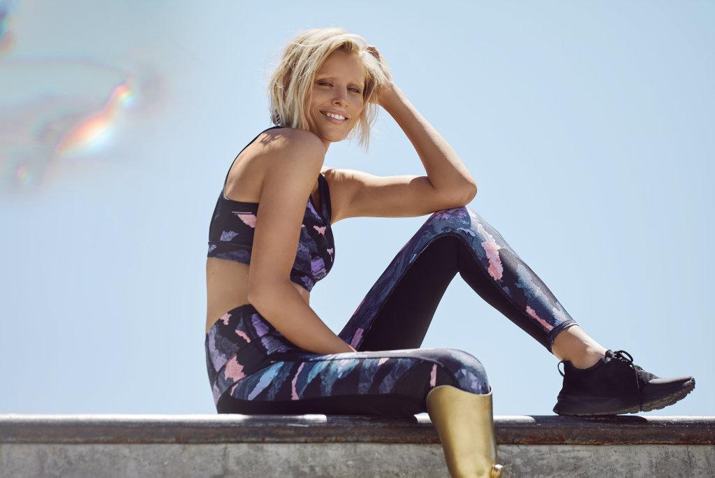 Lauren Wasser wears Cotton On Body clothing.