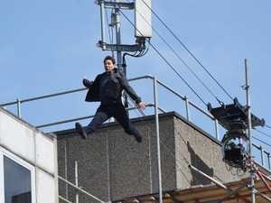 Tom Cruise injured in stunt gone bad