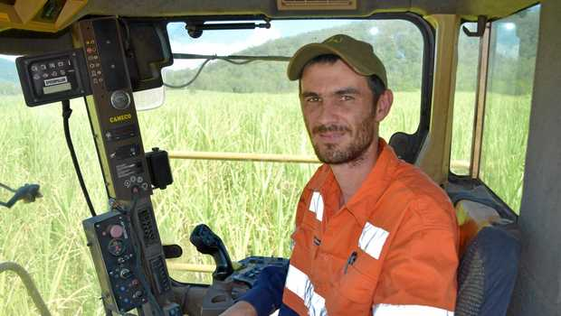 While on paid carer's leave, the Armstrong Beach resident was working for himself harvesting cane when Wilmar discovered him in a field.