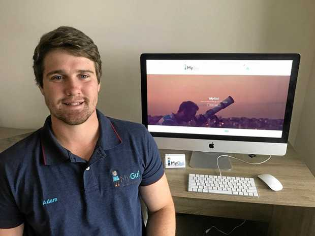 OUT OF THE ORDINARY: MyGui founder Adam Taylor aims to provide quirky and unique travel experiences on the Sunshine Coast.