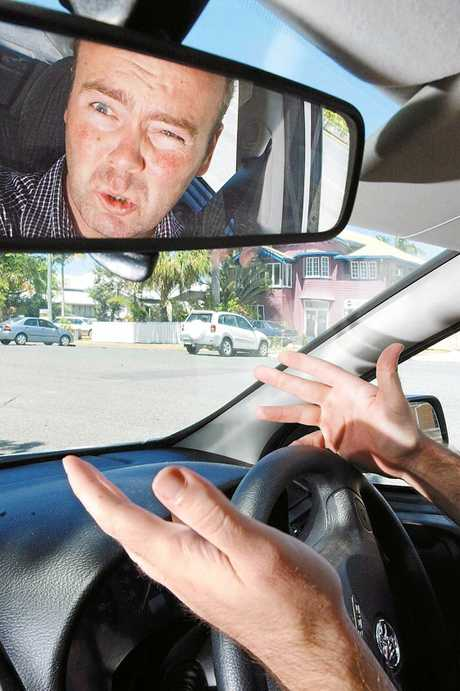 Research shows young men are more prone to road rage.
