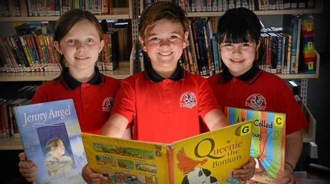 Glenview State School Year 3 students have received very good results for reading in this year's Naplan testing. Students from year 3, Miller Humphreys, Ari Cramp and Savannah Lennard.