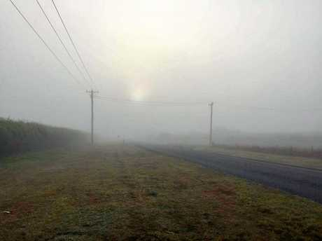 Drivers are being urged to stay vigilant on the roads during foggy conditions.