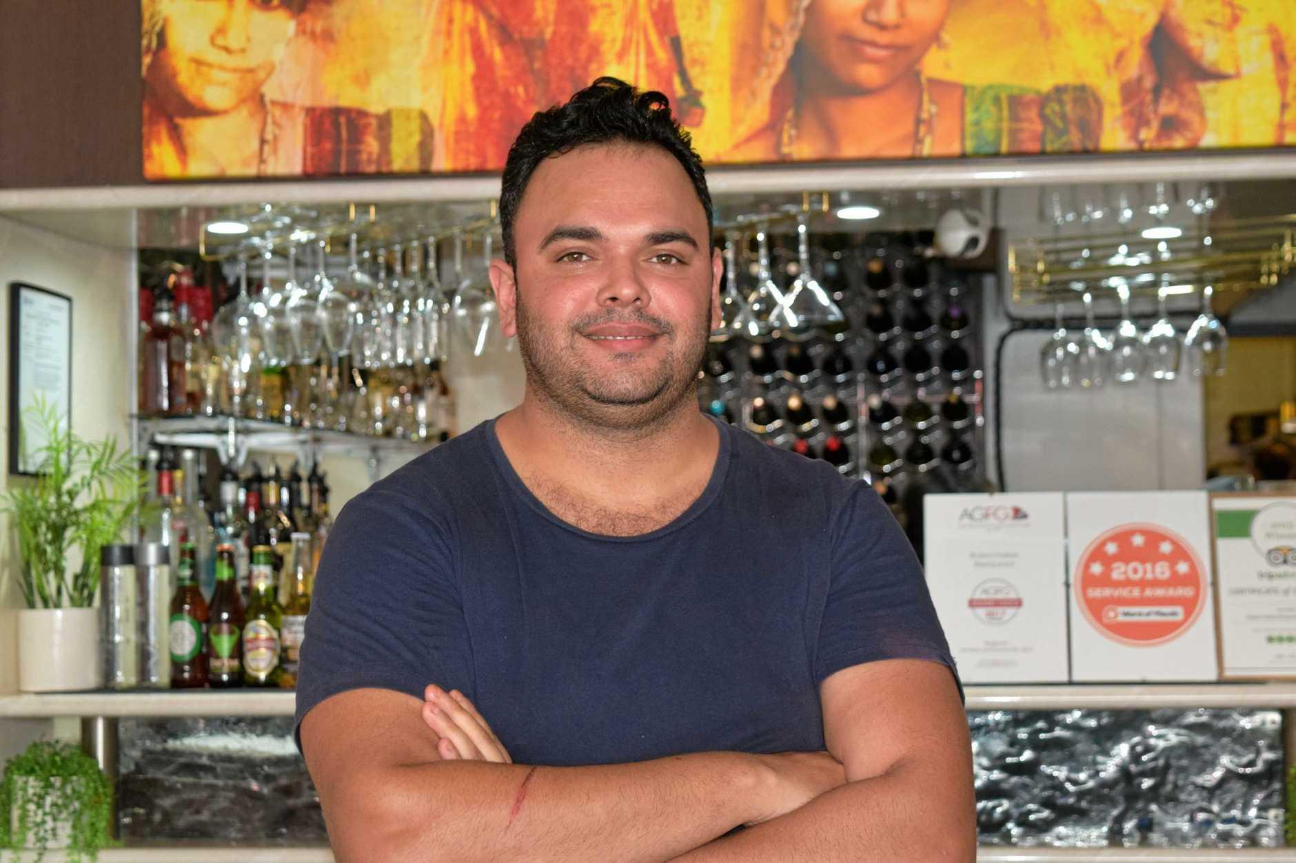 SUCCESS: Raj Sharma said the award was a surprise.